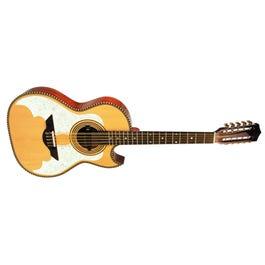 H. Jimenez LBQ3TLE El Murcielago Thin Line Acoustic-Electric Bajo Quinto