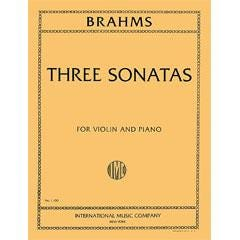 Image for Brahms Three Sonatas for Violin and Piano from SamAsh