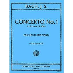 Image for Bach-Concerto No. 1 in A minor from SamAsh