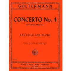 Image for Goltermann Concerto No 4 in G Major Op 65 (Cello and Piano) from SamAsh