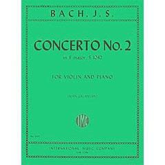 Image for Bach Concerto No. 2 in E major, BWV 1042 (Violin) from SamAsh