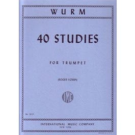 Image for 40 Studies for Trumpet from SamAsh