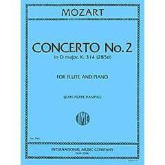 Image for Mozart Concerto No. 2 in D major, K. 314 (Flute) from SamAsh