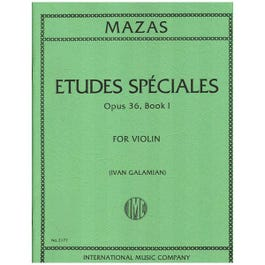 Image for Mazas Etudes Speciales Opus 36 from SamAsh