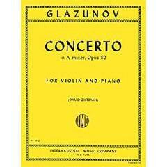Image for Glazunov-Concerto in A minor, Op. 82 (Violin) from SamAsh