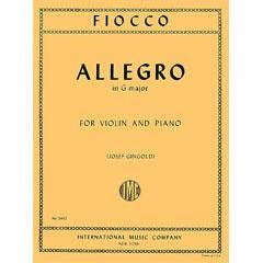 Image for Fiocco Allegro in G Major for Violin and Piano from SamAsh