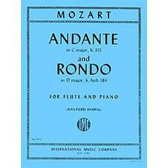Image for Mozart Andante in C major