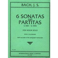 Image for Bach 6 Sonatas and Partitas for Violin Solo from SamAsh