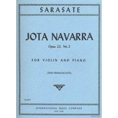 Image for Sarasate Jota Navarra Op.22#2 (Violin and Piano) from SamAsh