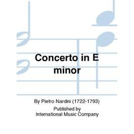 International Music Co. Nardini-Concerto in E minor