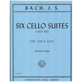 Image for JS Bach 6 Cello Suites for Viola from SamAsh