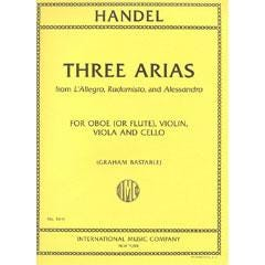 Image for Handel Three Arias from L'Allegro