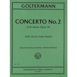 International Music Co. Goltermann-Concerto No. 2 in D minor, Opus 30