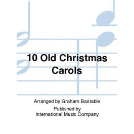 International Music Co. 10 Old Christmas Carols-Score and Parts