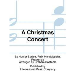 International Music Co. A Christmas Concert-flute, oboe, clarinet in B-flat