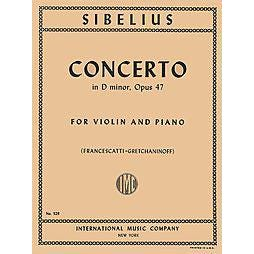Image for Sibelius Concerto in D Minor Op.47 (Violin and Piano) from SamAsh