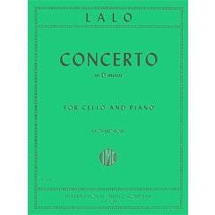 Image for Lalo Concerto in D Minor for Cello and Piano from SamAsh