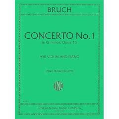 Image for Brusch Concerto No. 1 in G minor, Opus 26 (Violin and Piano) from SamAsh