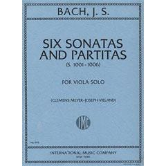 Image for Bach Six Sonatas and Partitas for Viola Solo from SamAsh
