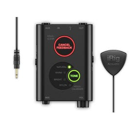 IK Multimedia iRig Acoustic Stage Microphone/Interface for iOS
