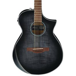 Image for AEWC400 Acoustic-Electric Guitar (Transparent Black Sunburst High Gloss) from SamAsh