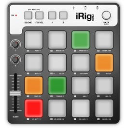 Image for iRig PADS MIDI Pad Controller / Groove Production Station from SamAsh