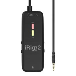 Image for iRig Pre 2 Mobile Microphone Interface from Sam Ash