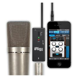 Image for iRig PRE Universal Microphone Interface with 2 Free Apps for iOS from SamAsh