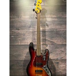 Fender AMERICAN PROFESSIONAL II FRETLESS JAZZ BASS Fretless Bass Guitar