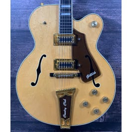 Gretsch 1979 Country Club Hollowbody Electric Guitar (Natural)