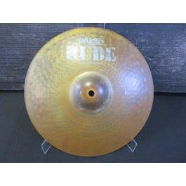 "Paiste 14"" Rude Bottom Hat Hi-Hat Cymbals (Bottom only)"