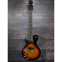 Image for Patriot Decree Left-Handed Electric Guitar (Caramel Burst) from SamAsh