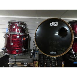 Drum Workshop Collector's Series Maple 3-Piece Shell Pack (Red Silk Onyx)