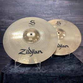 "Zildjian S Series 14"" Rock Hi-Hat Cymbals"