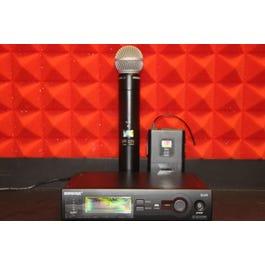 Shure SLX1/58 Combo wireless mic system