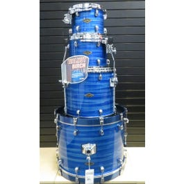 Image for Starclassic Walnut/Birch 4-Piece Shell Kit (Lacquer Ocean Blue Ripple, Lacquer) from SamAsh