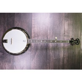 Image for White Lotus 5-String Banjo (Demo) from Sam Ash