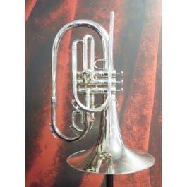 King 1121SP Silver Mellophone