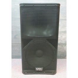 """QSC KW152 2-Way 1000-Watt 15"""" Active Loudspeaker with QSC Cover"""