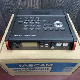 TASCAM DR680 MKII Field Recorder