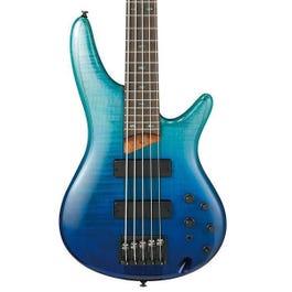 Image for SR875 5-String Bass Guitar (Blue Reef Gradiation) from SamAsh