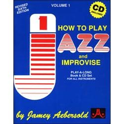 Image for Play A Long Vol 1 How To Play Jazz and Improvise (Spanish Book and CD) from SamAsh
