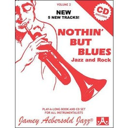 Jamey Play A Long Vol 2 Nothin But Blues (Book and CD)