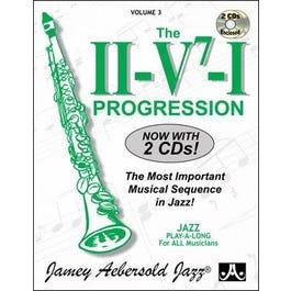 Jamey Play A Long Vol 3 The II V7 I Progression (Book & 2 CD'S