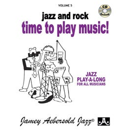 Jamey Play A Long Vol 5 Time to Play Music (Book and CD)