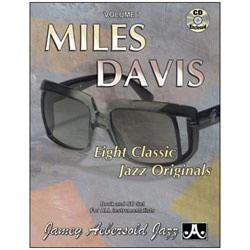 Image for Play A Long Vol 7 Miles Davis (Book and CD) from SamAsh