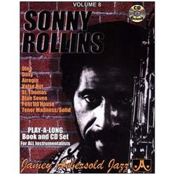 Image for Play A Long Vol 8 Sonny Rollins (Book and CD) from SamAsh