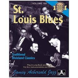 Image for Play A Long Vol 100 St Louis Blues (Book and CD) from SamAsh