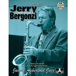 Image for Play A Long Vol 102 Jerry Bergonzi Sound Advice (Book and CD) from SamAsh