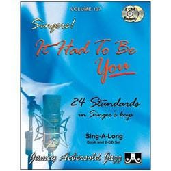 Image for Play A Long Vol 107 Standards For Singers (Book and 2 CDs) from SamAsh